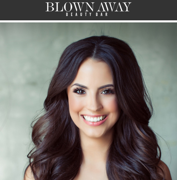 Blown Away Beauty Bar at SoCal's Premier Bridal Shows