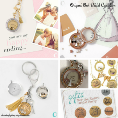 Wedding Jewelry by Origami Owl at Premier Bridal ShowsPicture