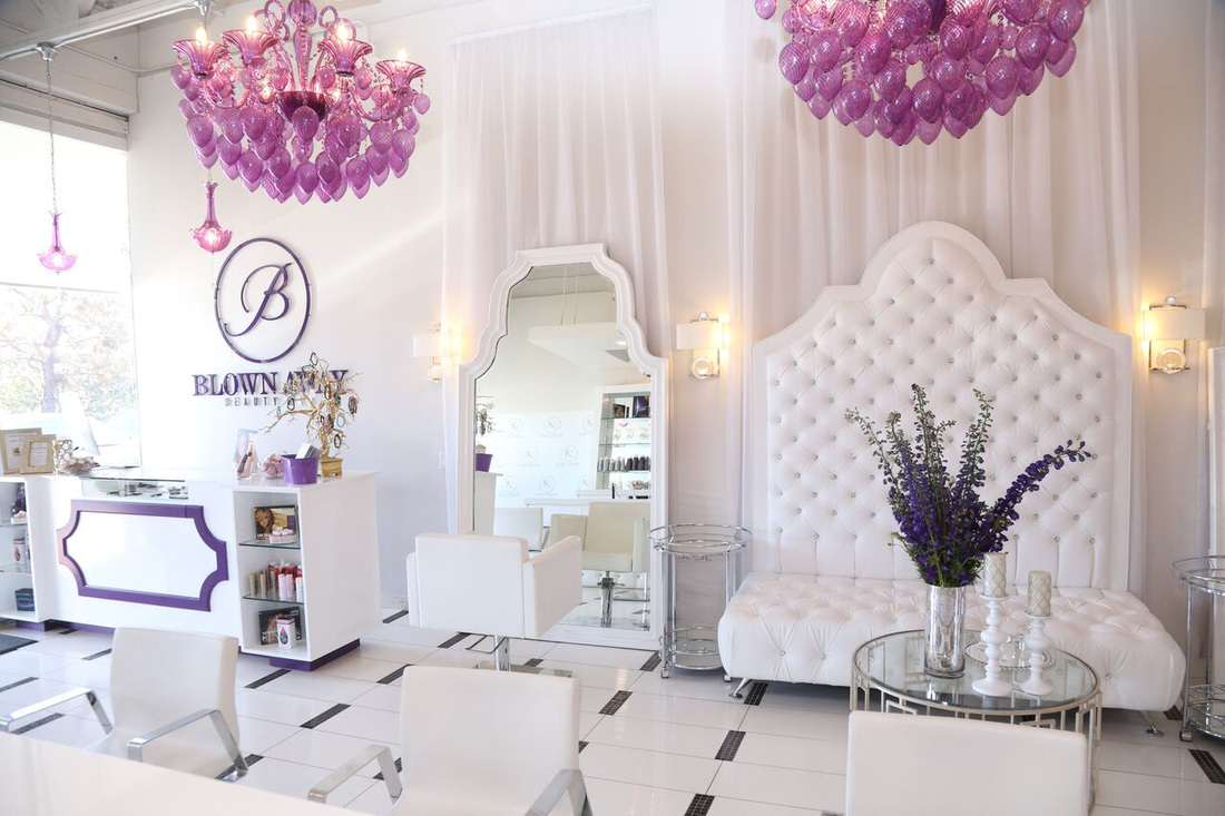 Blown Away Beauty Bar at Premier Bridal Shows