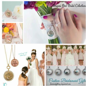 Wedding Jewelry by Origami Owl at Premier Bridal Shows