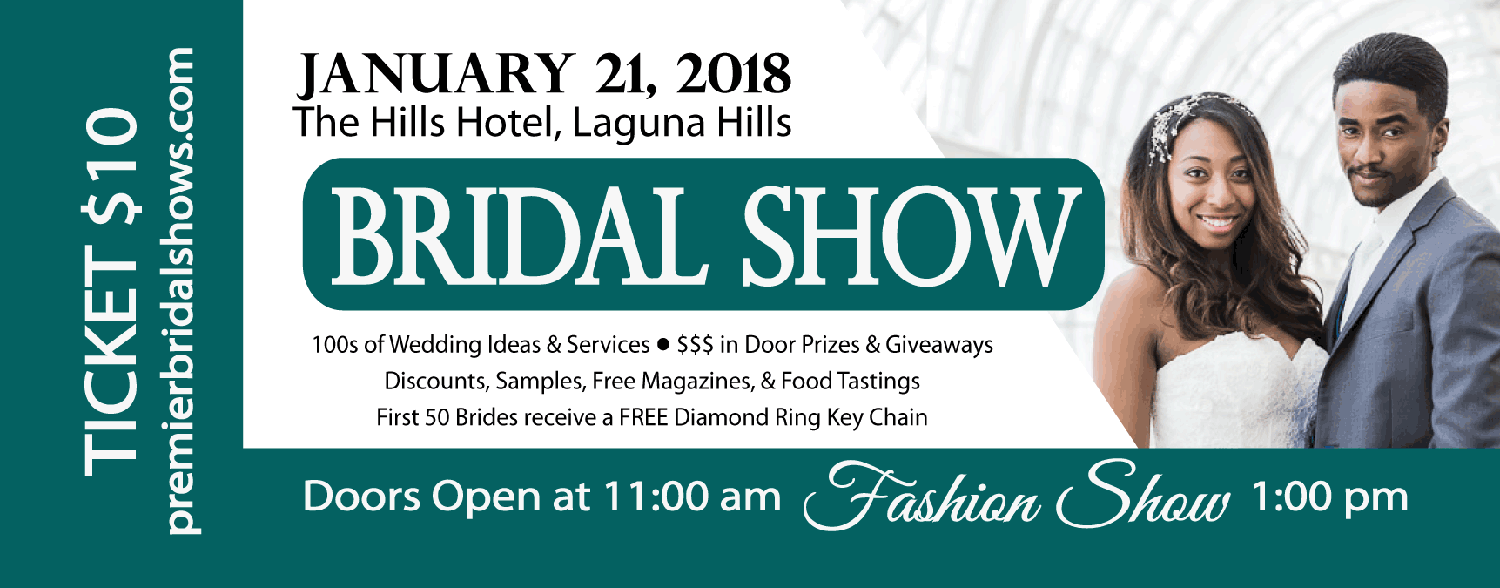 Boutique Bridal Show The Hills Hotel, Laguna Hills